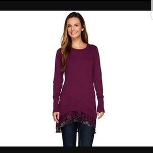 LOGO Lori  Goldstein  Sweater dress Tunic